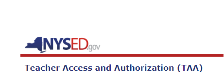 Teacher Access and Authorization (TAA)