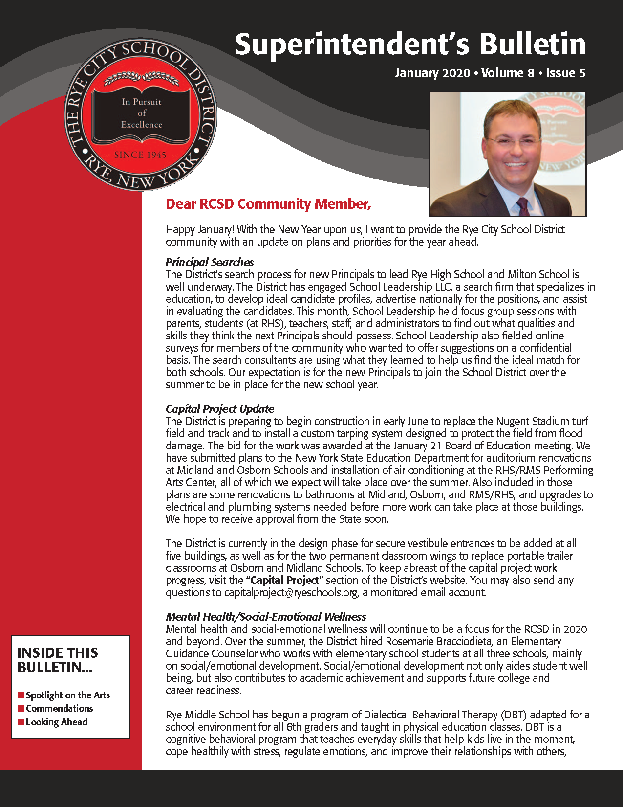 RCSD January Superintendent's Bulletin