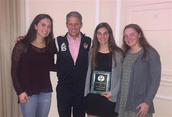 Girls Varsity Soccer Team Receives Sportsmanship Award